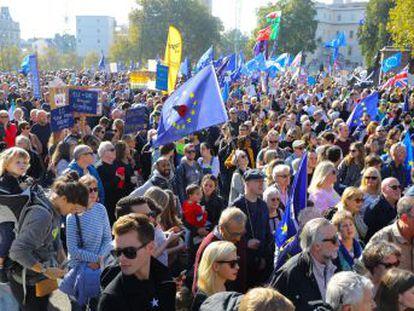 Los organizadores cifran en medio millón de personas la asistencia a la marcha