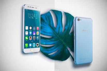 Un móvil de la marca Vivo.