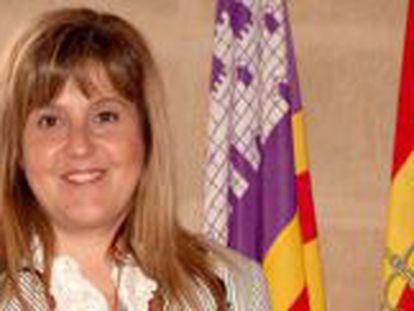 Joana Maria Camps, consejera de Educación de Baleares.