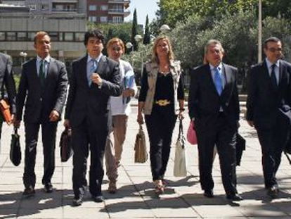 Los consejeros de Economía de las comunidades del PP en el anterior Consejo de Política Fiscal de julio.