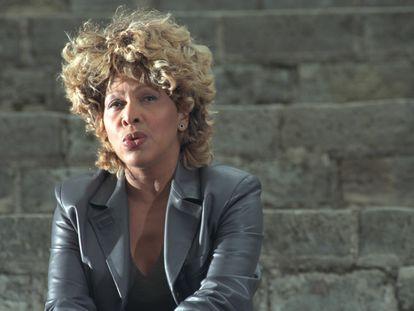Tina Turner en 1999, cuando rodaba el videoclip de 'Whatever you need'.