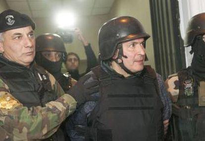 José López, detenido por enriquecimiento ilícito.