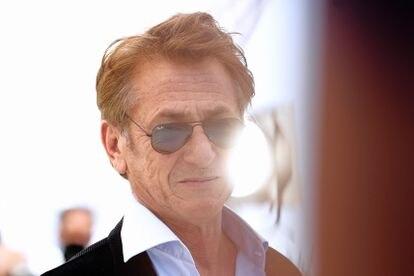 Sean Penn, ante los fotógrafos de Cannes.