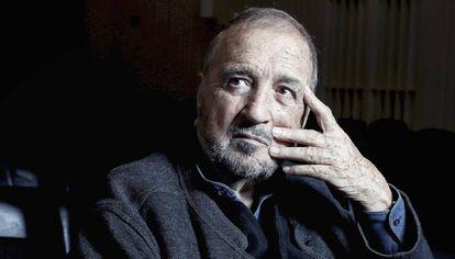 El escritor y director Jean-Claude Carrière, en Madrid.