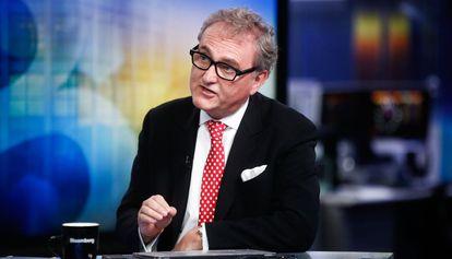 El exdirector de British Chambers of Commerce John Longworth, el pasado miércoles en Londres. Renunció a su cargo tras declarar que apoyaba el 'Brexit'.
