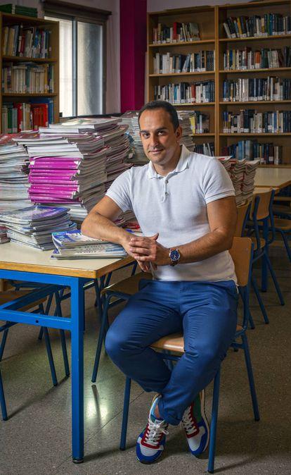 """""""Los alumnos de formación profesional son los que más han sufrido"""", opina Jesús Manzano, profesor de varios centros de Salamanca."""