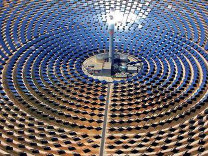 Planta termosolar de Torresol Energy en Fuentes de Andalucía (Sevilla).