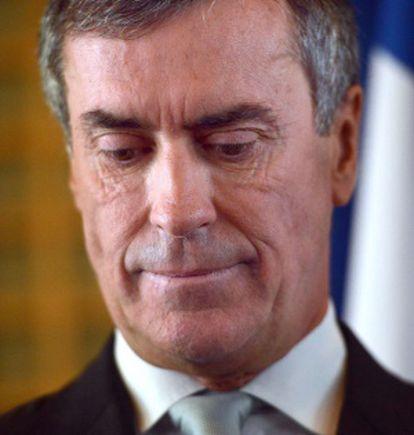 El exministro Jerome Cahuzac, en una ceremonia en el Ministerio de Finanzas, el pasado 20 de marzo.