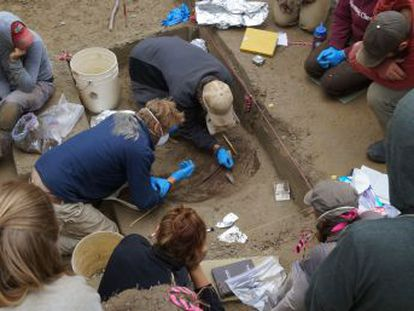 Los restos hallados en Alaska datados hace 11.500 años pertenecen a una población desconocida hasta ahora