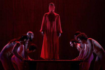 Una escena de 'The Scarlet Letter', de Angélica Liddell.