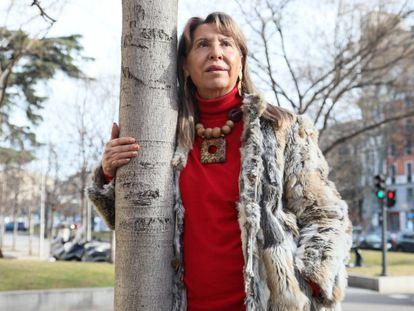 La escritora Juana Vazquez, autora del libro 'El Madrid cotidiano del siglo XVIII'.