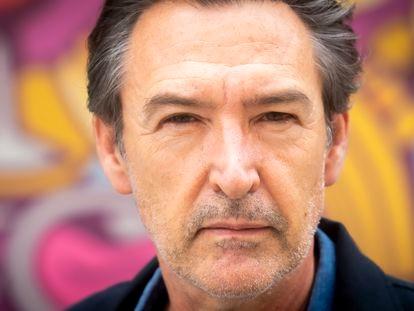El actor Ginés García Millán, en Madrid.
