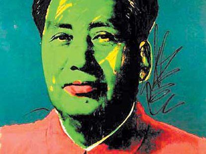 <i>Retrato de Mao</i><b> (1973)</b>, de Andy Warhol.