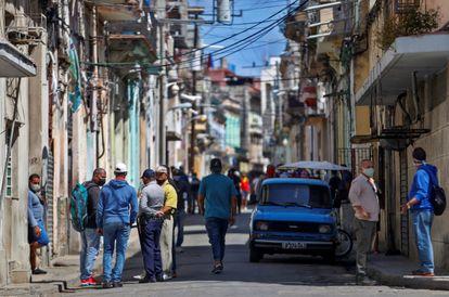 Vista del barrio San Isidro, de La Habana, Cuba, el 5 de abril de 2021.