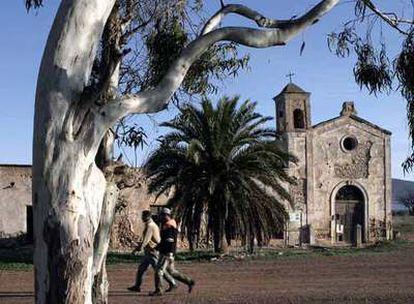 El cortijo del Fraile en Níjar (Almería), en el que se inspiró Federico García Lorca para escribir <i>Bodas de sangre</i>.
