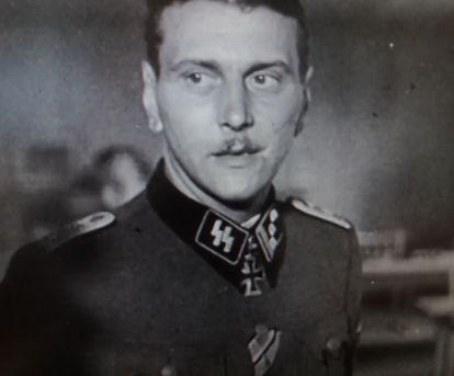 Otto Skorzeny en una imagen del documental 'El hombre más peligroso de Europa, Otto Skorzeny en España'.