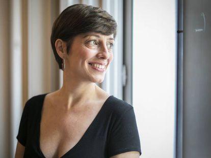 La escritora Marta Carnicero, autora de las novelas 'El cielo según Google' y 'Coníferas'
