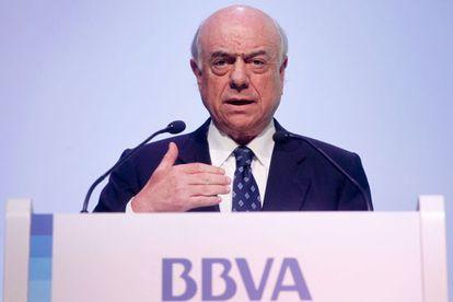 Francisco González durante la presentación.