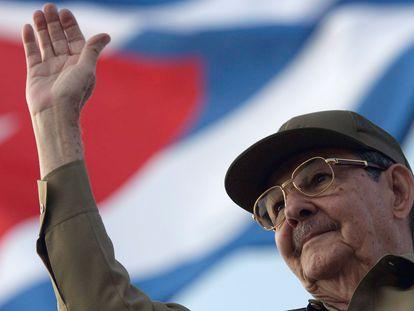 Raúl Castro, durante una ceremonia en La Habana, en 2008.
