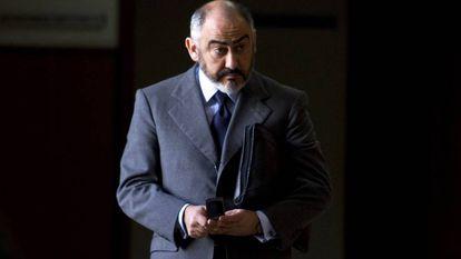 El exdelegado del Estado en la Zona Franca de Cádiz, Manuel Rodríguez de Castro, en 2013.