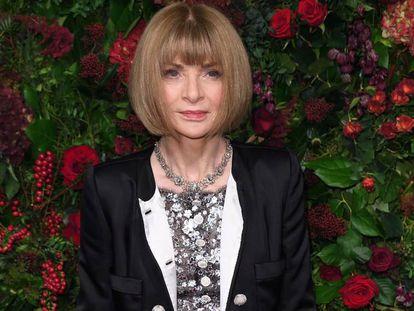 Anna Wintour, en una gala en Londres en noviembre.