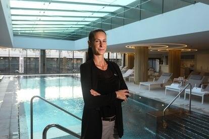 Jasone Bengoa, responsable del spa y de las zonas de tratamientos del Hotel Four Seasons de Madrid.