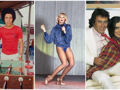 Gianni Bella, Raffaella Carrà y Albano y Romina, algunos de los italianos que cantaron en español y sedujeron a los españoles.