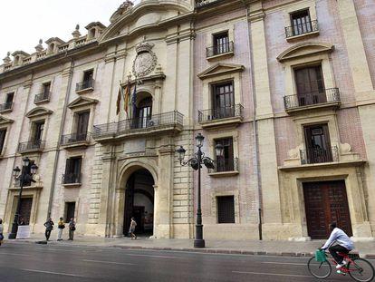 La sede del TSJCV, en una imagen de archivo.