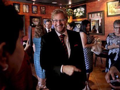 Andrés Roemer, cuando era cónsul de México en San Francisco, el 27 de junio de 2014.
