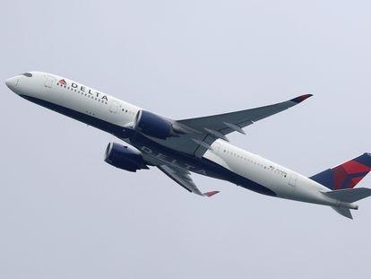 Un  Airbus A350 de Delta Air Lines.