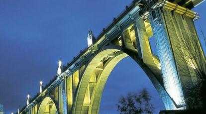 El Pont de San Jordi, en Alcoi (Alicante).