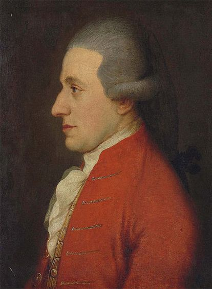 Óleo de Mozart descubierto y atribuido a Josep Hickel.
