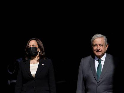 La visita de Kamala Harris a México, en imágenes