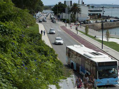 La avenida de Carrero Blanco, que no tiene placa con su nombre.