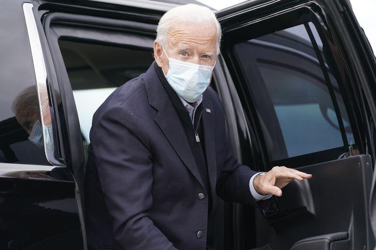 El candidato demócrata a la presidencia de EE UU, Joe Biden, en Michigan.