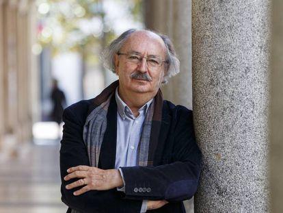 Antonio Colinas, este miércoles en Valladolid / JAVIER ÁLVAREZ