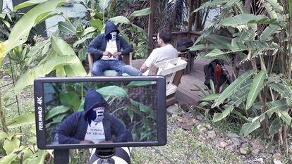 Una de las entrevistas del documental 'Patria libre para vivir'.
