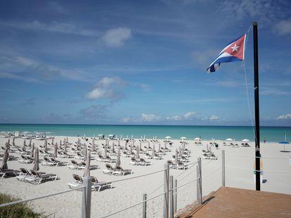 La emblemática playa de Varadero (Cuba) en octubre del año pasado.