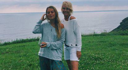 Belén Écija junto a su madre, la actriz Belén Rueda, en una imagen de su Instagram.
