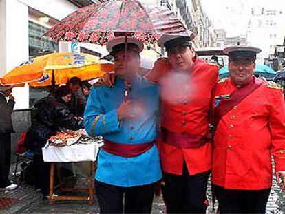 La lluvia impidió el carrusel de coros en el Carnaval de Cádiz