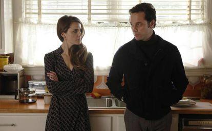 Los protagonistas de la serie 'The Americans'.