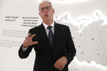 Dmitriev, en octubre de 2019 en Riad (Arabia Saudí).