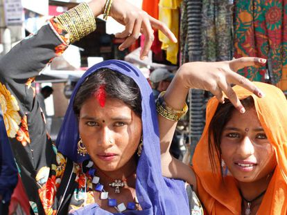 Aunque extendido por varias regiones de India, el ritual 'goom' procede de la comunidad nómada de Rajastan, ancestros de los romanís de Europa.