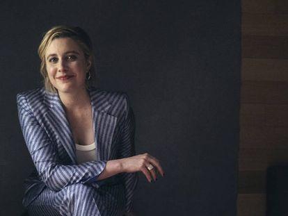Greta Gerwig, en Nueva York el pasado 10 de diciembre durante la presentación de 'Mujercitas'.