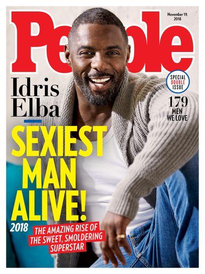 La abrumadora mayoría de hombres blancos elegidos como los más sexis del mundo hizo que la revista 'People' recibiese muchas críticas. En 2018 Idris Elba fue el segundo hombre negro en coronar la lista (el primero fue Denzel Washington en 1996).