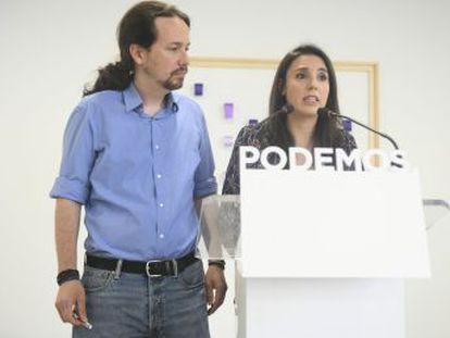 Todas las corrientes de Podemos coinciden en la crisis que supondría un vacío de poder a un año de las elecciones autonómicas y locales