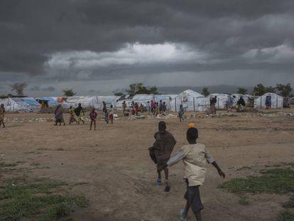 Campo para desplazados en Pulka (Nigeria).