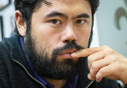 Hikaru Nakamura, hace un año en el Club de Ajedrez de San Luis (Misuri, EEUU)