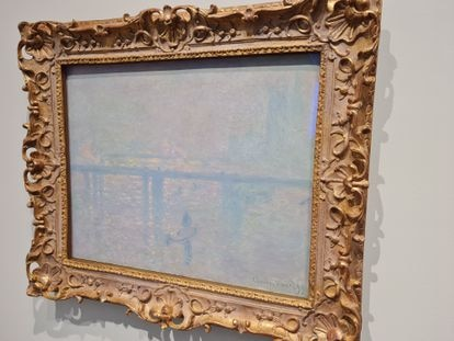 La versión del cuadro de Monet que expone el Louvre de Abu Dabi.