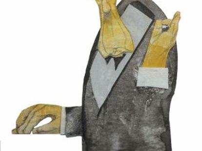 Pierre Boulez, visto por Sciammarella.